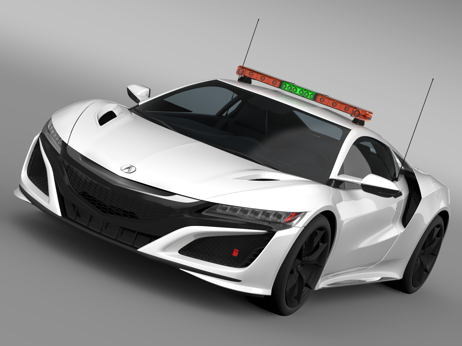 acura nsx safety car 2016 3d model 3ds max fbx c4d lwo ma mb hrc xsi obj 215687