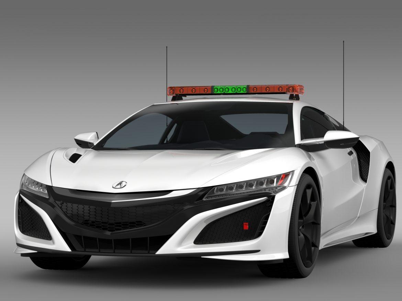 acura nsx safety car 2016 3d model 3ds max fbx c4d lwo ma mb hrc xsi obj 215689