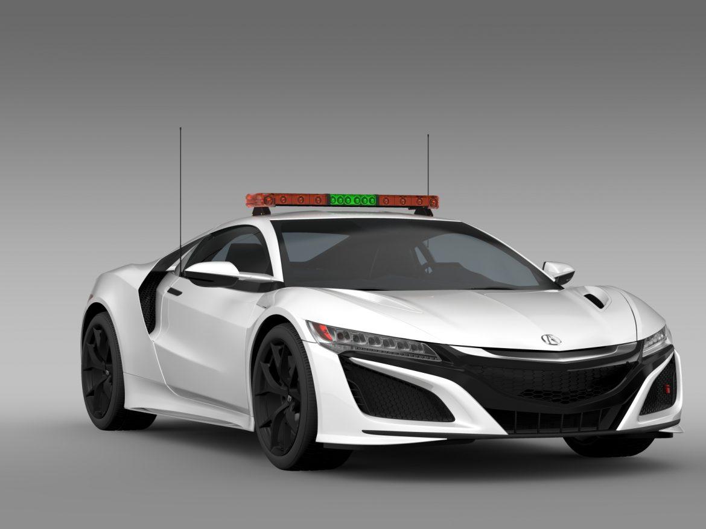 acura nsx safety car 2016 3d model 3ds max fbx c4d lwo ma mb hrc xsi obj 215690