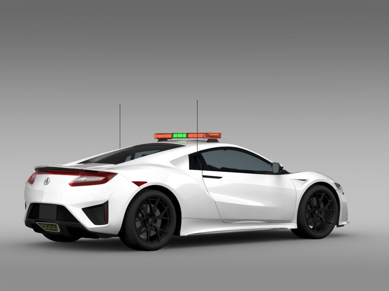 acura nsx safety car 2016 3d model 3ds max fbx c4d lwo ma mb hrc xsi obj 215691
