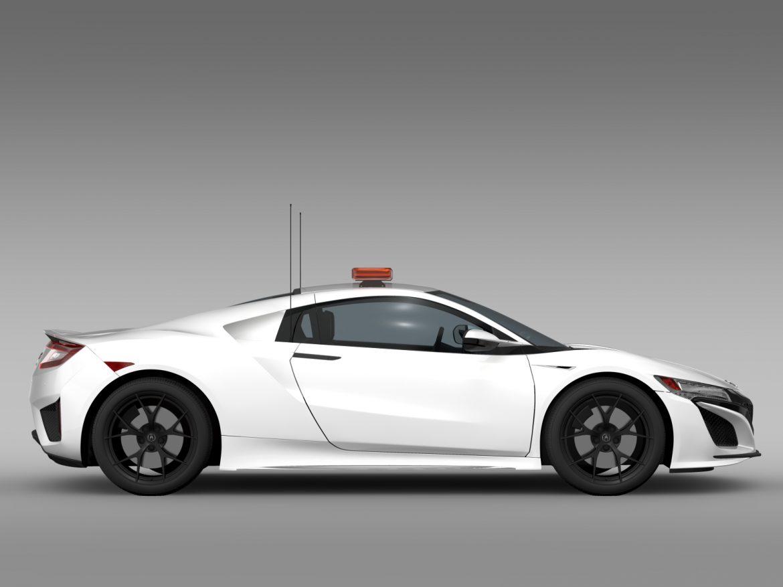 acura nsx safety car 2016 3d model 3ds max fbx c4d lwo ma mb hrc xsi obj 215692
