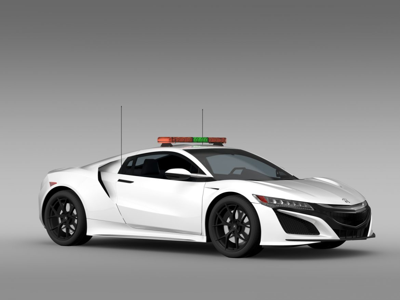 acura nsx safety car 2016 3d model 3ds max fbx c4d lwo ma mb hrc xsi obj 215693
