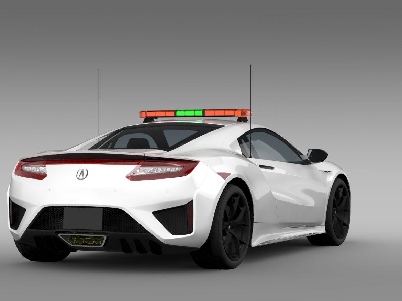 acura nsx safety car 2016 3d model 3ds max fbx c4d lwo ma mb hrc xsi obj 215694
