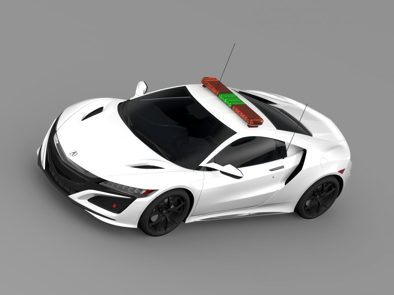 acura nsx safety car 2016 3d model 3ds max fbx c4d lwo ma mb hrc xsi obj 215696