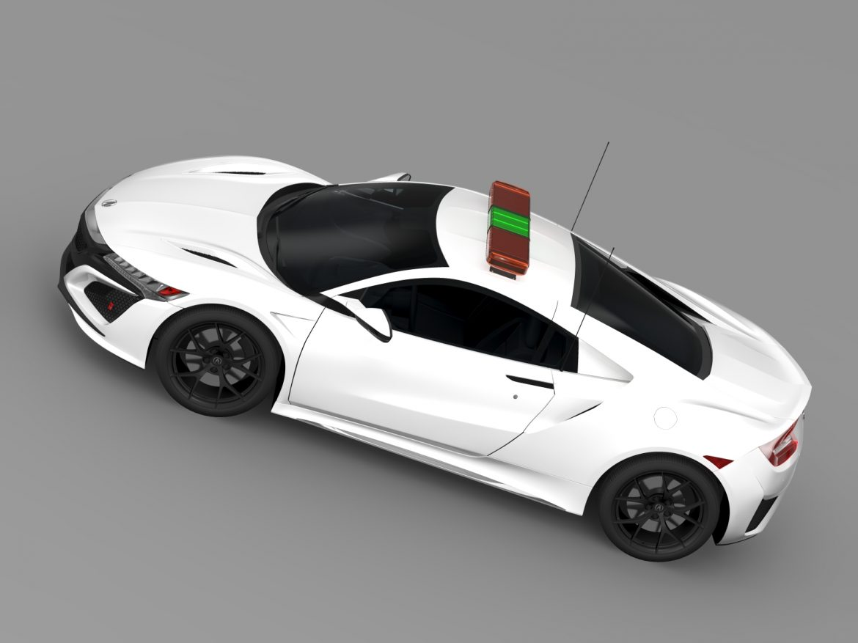 acura nsx safety car 2016 3d model 3ds max fbx c4d lwo ma mb hrc xsi obj 215697