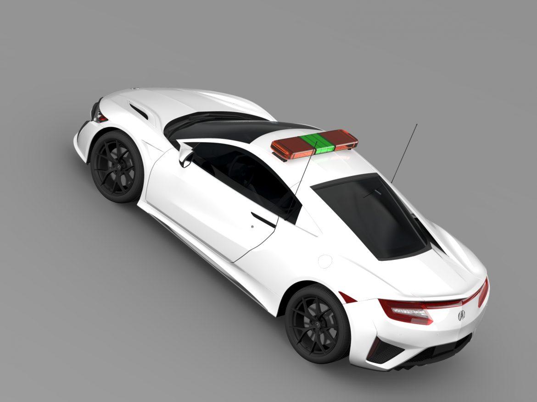 acura nsx safety car 2016 3d model 3ds max fbx c4d lwo ma mb hrc xsi obj 215698