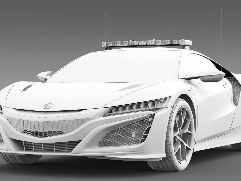acura nsx safety car 2016 3d model 3ds max fbx c4d lwo ma mb hrc xsi obj 215702