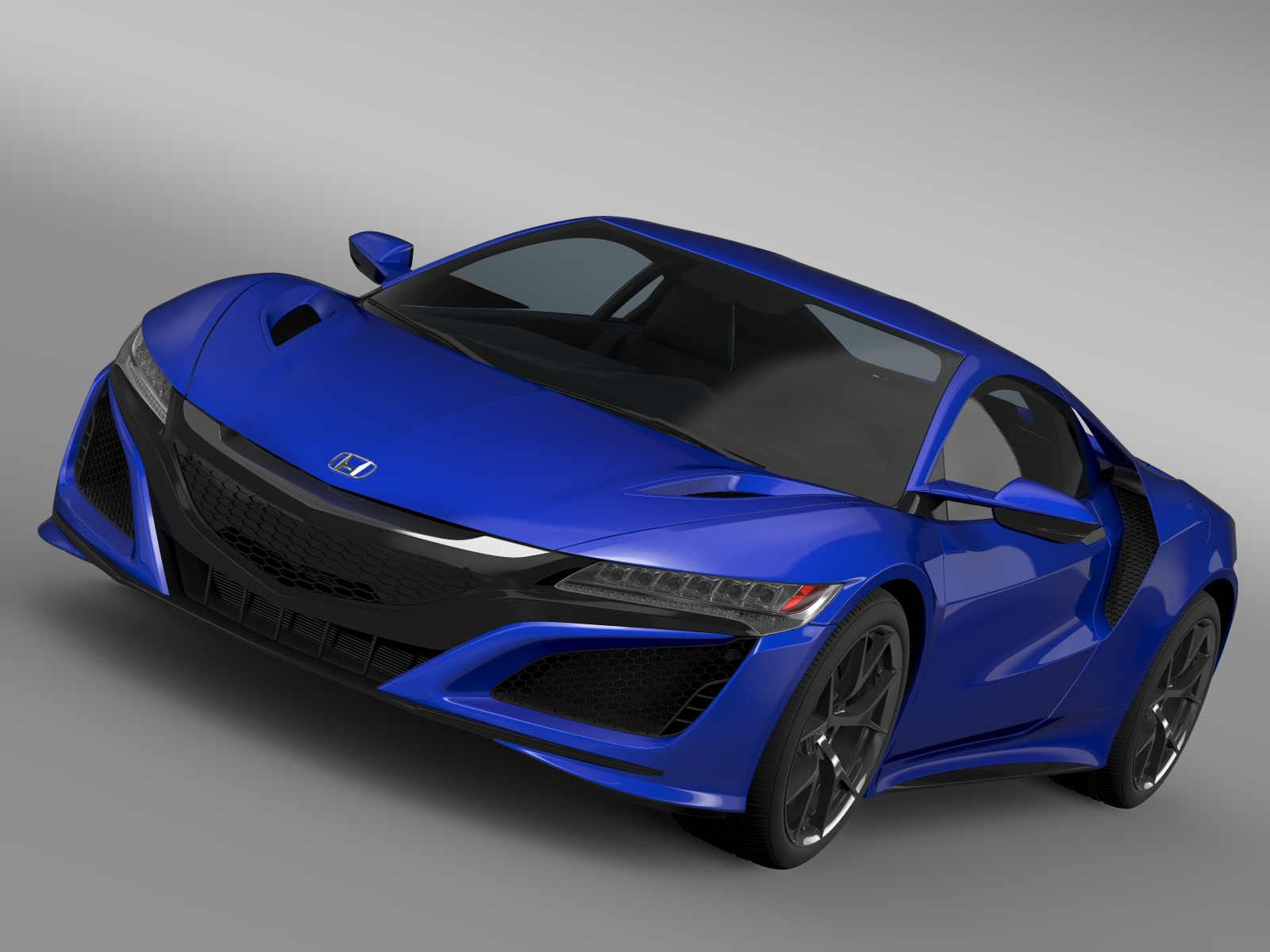 Honda nsx 2016 3d model buy honda nsx 2016 3d model for Honda 2016 models