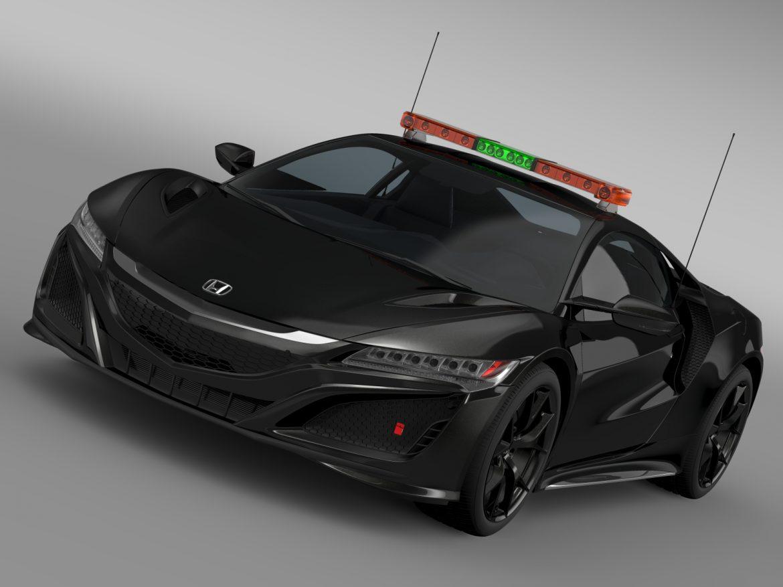 honda nsx 2016 drošības auto 3d modelis 3ds max fbx c4d lwo ma mb hrc xsi obj 215727