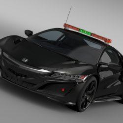 Honda Nsx 2016 Safety Car 3d Model Vehicles 3d Models Sport 3ds