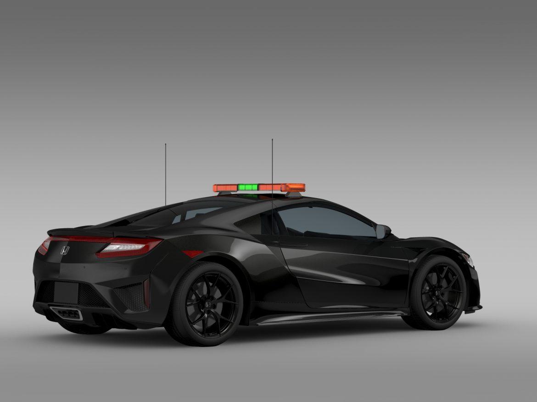 honda nsx 2016 drošības auto 3d modelis 3ds max fbx c4d lwo ma mb hrc xsi obj 215731