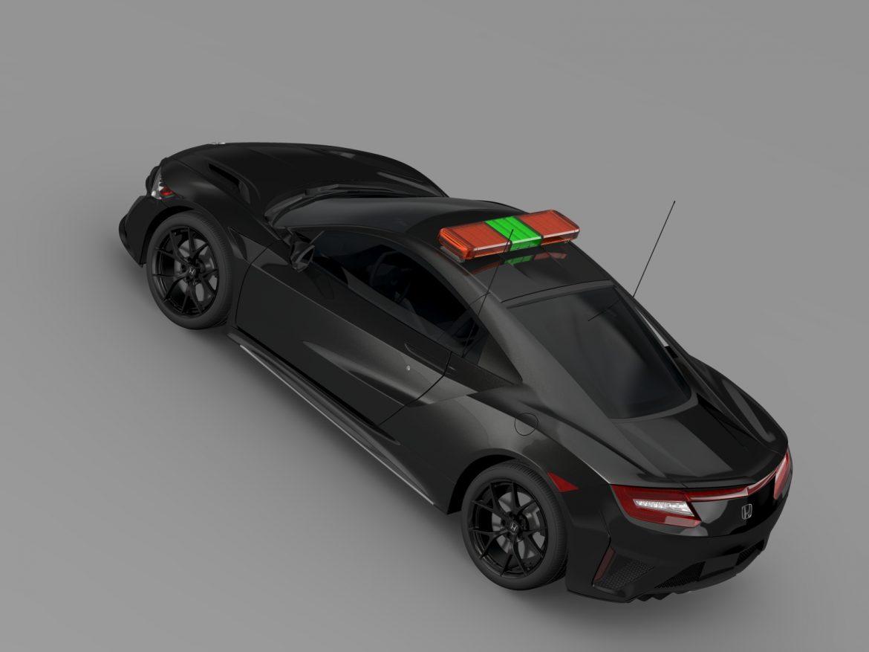 honda nsx 2016 drošības auto 3d modelis 3ds max fbx c4d lwo ma mb hrc xsi obj 215737