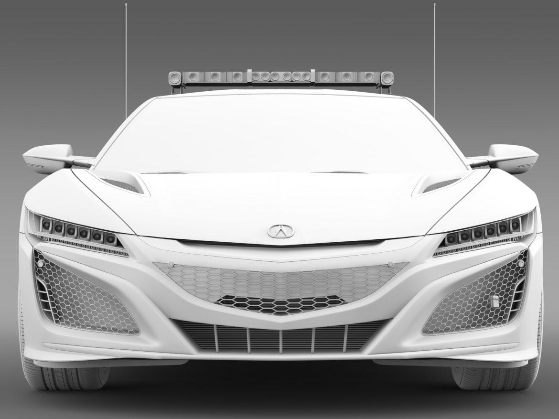 honda nsx 2016 drošības auto 3d modelis 3ds max fbx c4d lwo ma mb hrc xsi obj 215740
