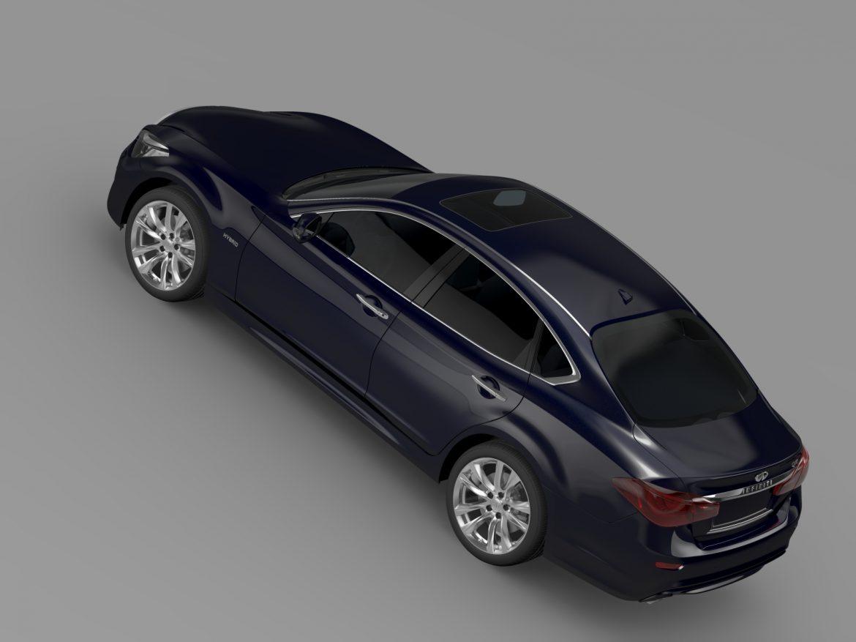 infiniti q70 hibrid (y51) 2015 3d modell 3ds max fbx c4d lwo ma mb hrc xsi obj 215815