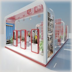 Exhibition Stands 031 3d model max dxf fbx  obj