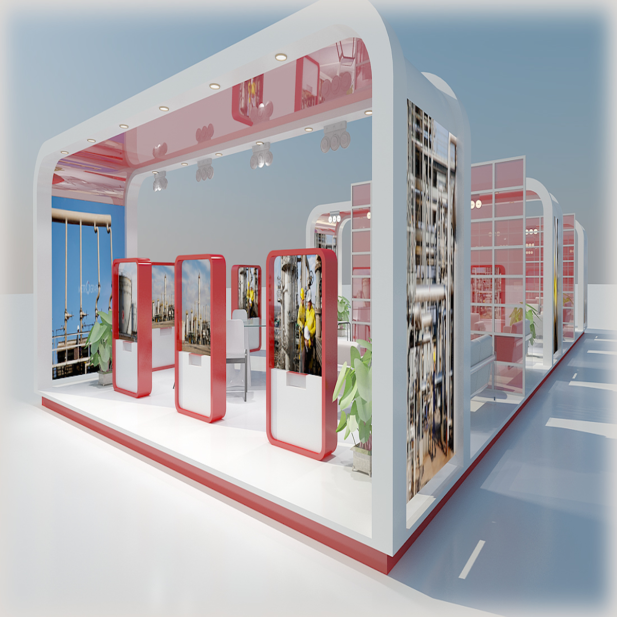 D Model Of Exhibition : Exhibition stands d model buy