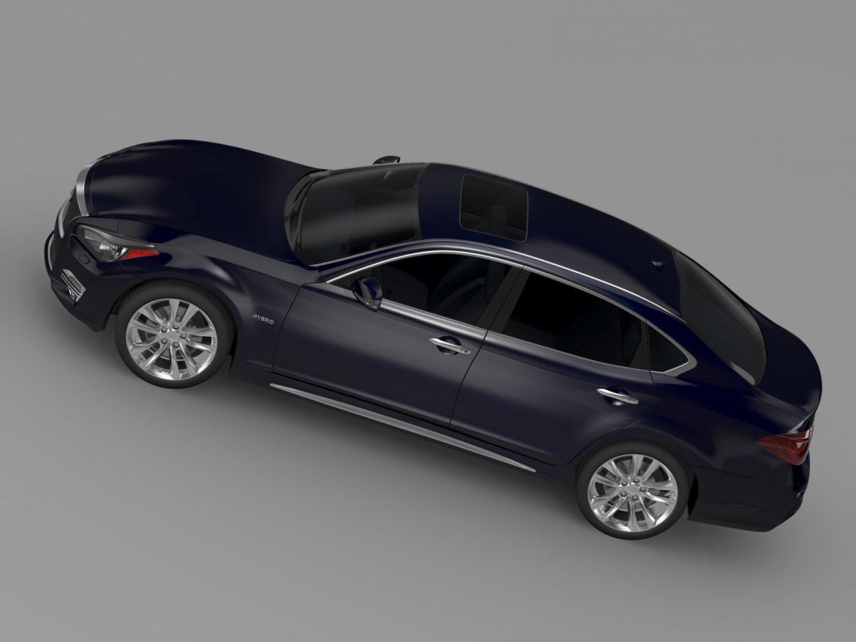 infiniti q70 hybrid l (y51) 2015 3d model 3ds max fbx c4d lwo ma mb hrc xsi obj 215842