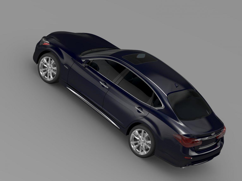 infiniti q70 hybrid l (y51) 2015 3d model 3ds max fbx c4d lwo ma mb hrc xsi obj 215843