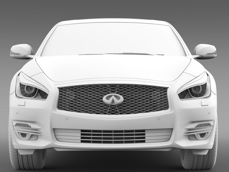 infiniti q70 hybrid l (y51) 2015 3d model 3ds max fbx c4d lwo ma mb hrc xsi obj 215845
