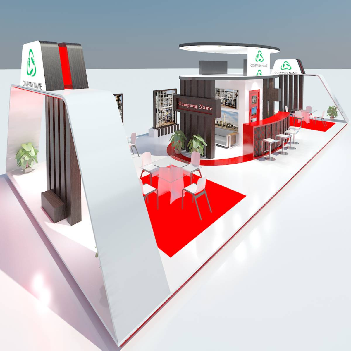 D Model Of Exhibition : Exhibition stand d model buy