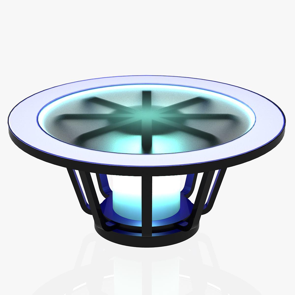 Virtual Tv Studio News Desk 1 3d model 3ds max dxf fbx dae  obj 215883