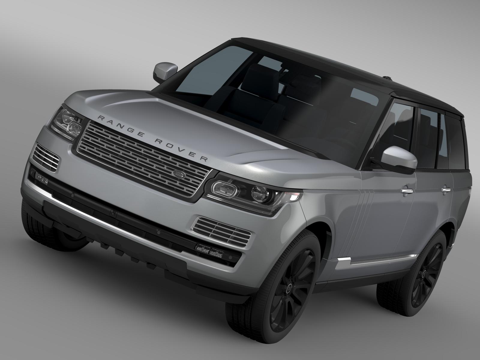 range rover svautobiography l405 2016 v1 3d model 3ds max fbx c4d lwo ma mb hrc xsi obj 215966