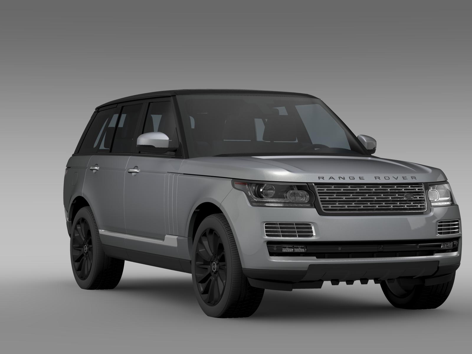 range rover svautobiography l405 2016 v1 3d model buy range rover svautobiography l405 2016 v1. Black Bedroom Furniture Sets. Home Design Ideas