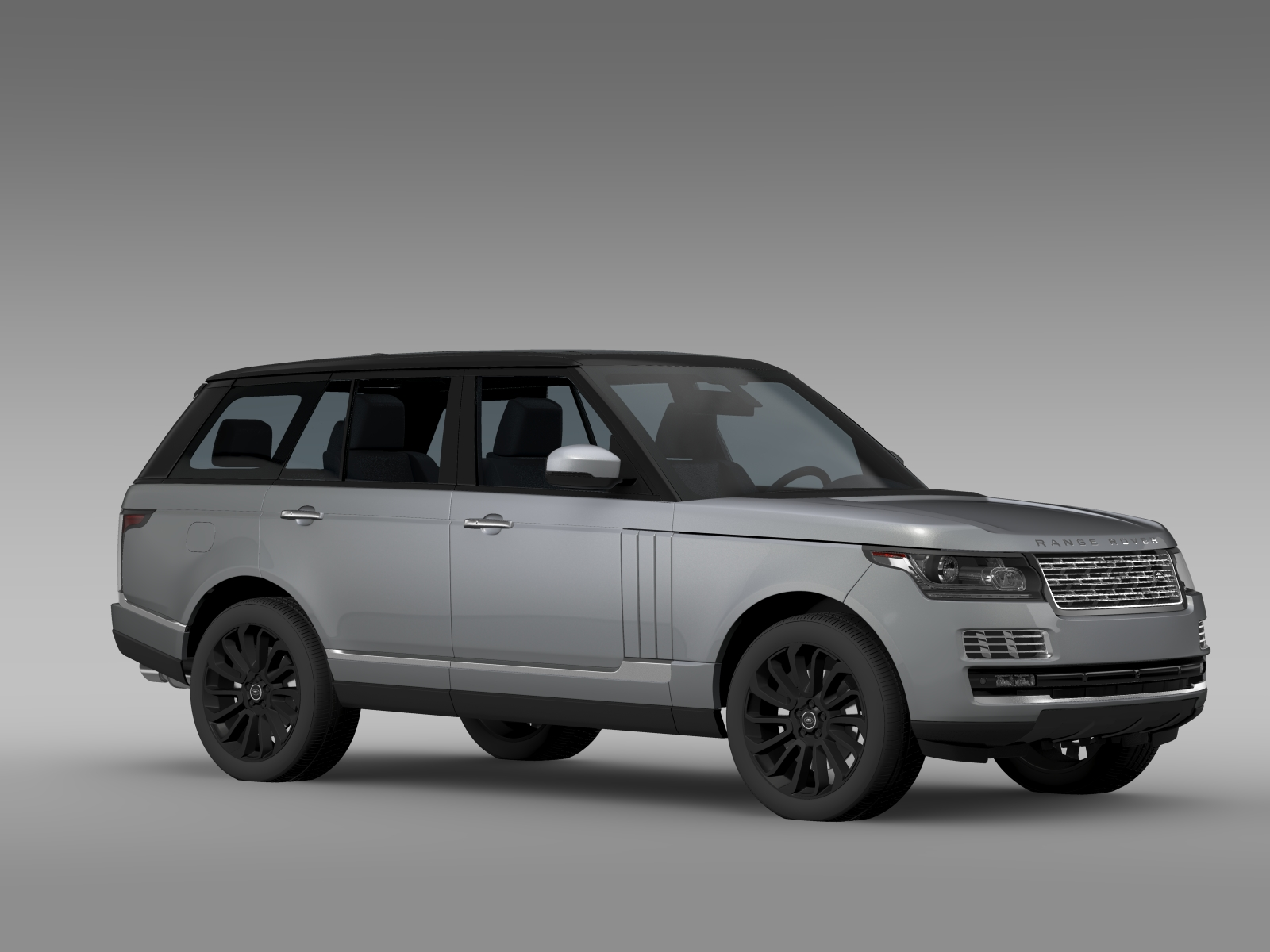 range rover svautobiography l405 2016 v1 3d model buy. Black Bedroom Furniture Sets. Home Design Ideas
