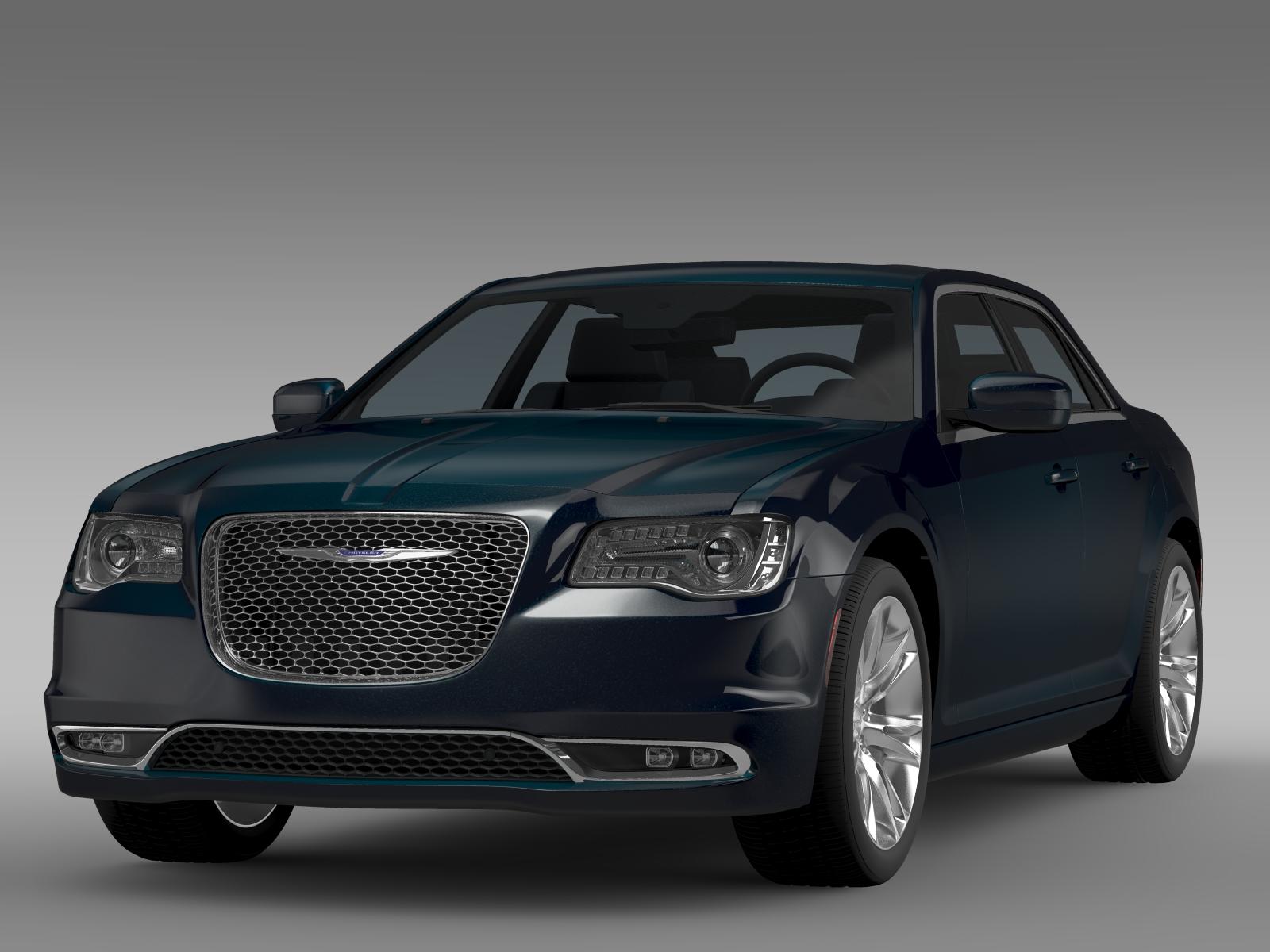 chrysler 300 c lx2 2016 3d model vehicles 3d models car 3ds max fbx c4d lwo lws lw ma mb obj ar vr. Black Bedroom Furniture Sets. Home Design Ideas