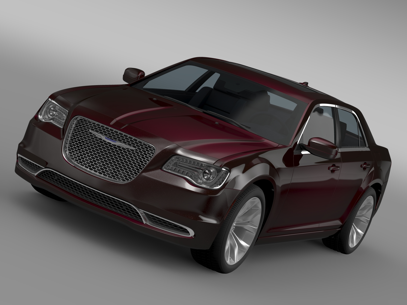 chrysler 300 limited lx2 2016 3d model 3ds max fbx c4d lwo ma mb hrc xsi obj 216006