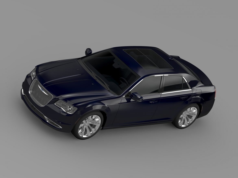 chrysler 300c platinum awd lx2 2016 3d model 3ds max fbx c4d lwo ma mb hrc xsi obj 216035