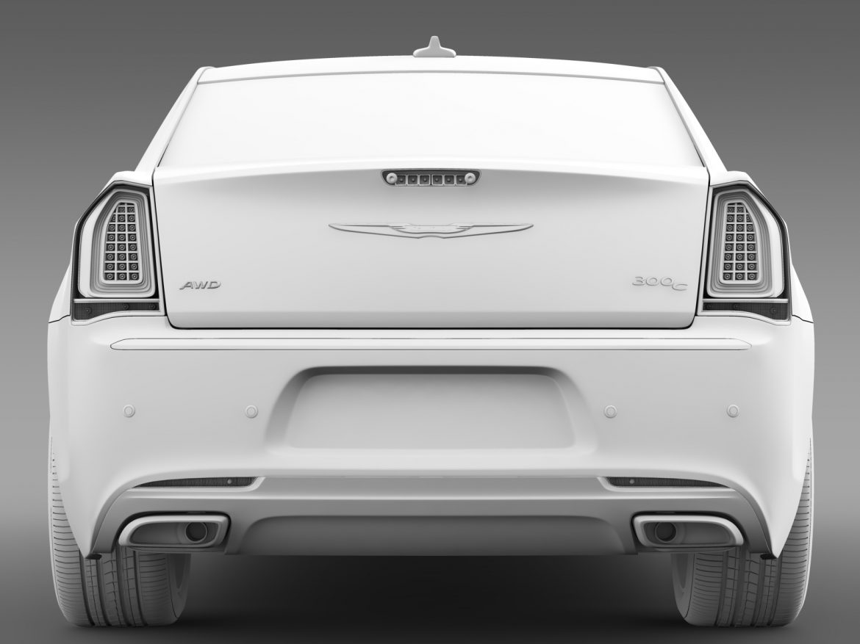 chrysler 300c platinum awd lx2 2016 3d model 3ds max fbx c4d lwo ma mb hrc xsi obj 216038