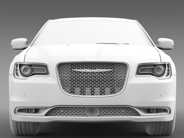chrysler 300c platinum awd lx2 2016 3d model 3ds max fbx c4d lwo ma mb hrc xsi obj 216039