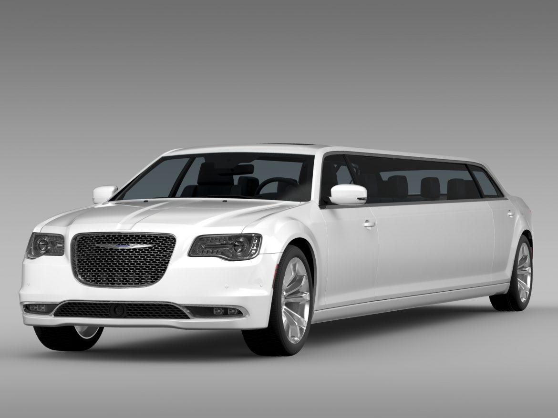 chrysler 300c platinum limousine lx2 2016 3d model 3ds max fbx c4d lwo ma mb hrc xsi obj 216048