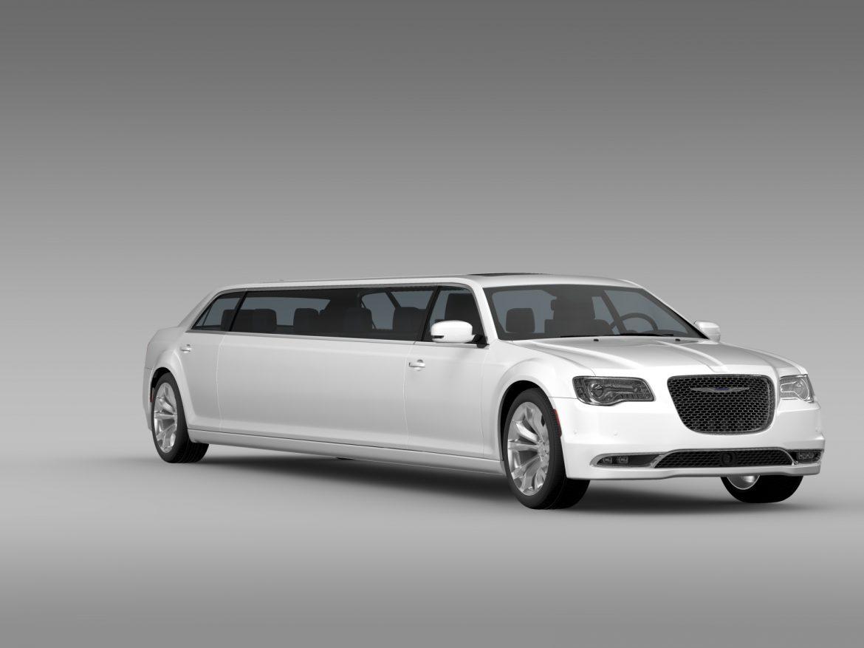 chrysler 300c platinum limousine lx2 2016 3d model 3ds max fbx c4d lwo ma mb hrc xsi obj 216049
