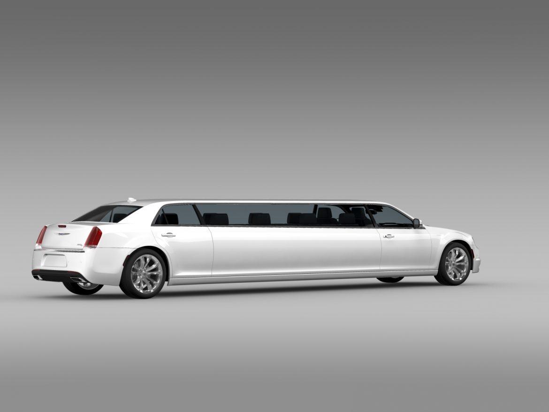chrysler 300c platinum limousine lx2 2016 3d model 3ds max fbx c4d lwo ma mb hrc xsi obj 216050