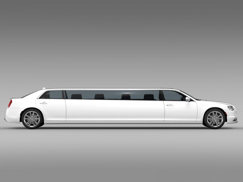 chrysler 300c platinum limousine lx2 2016 3d model 3ds max fbx c4d lwo ma mb hrc xsi obj 216051