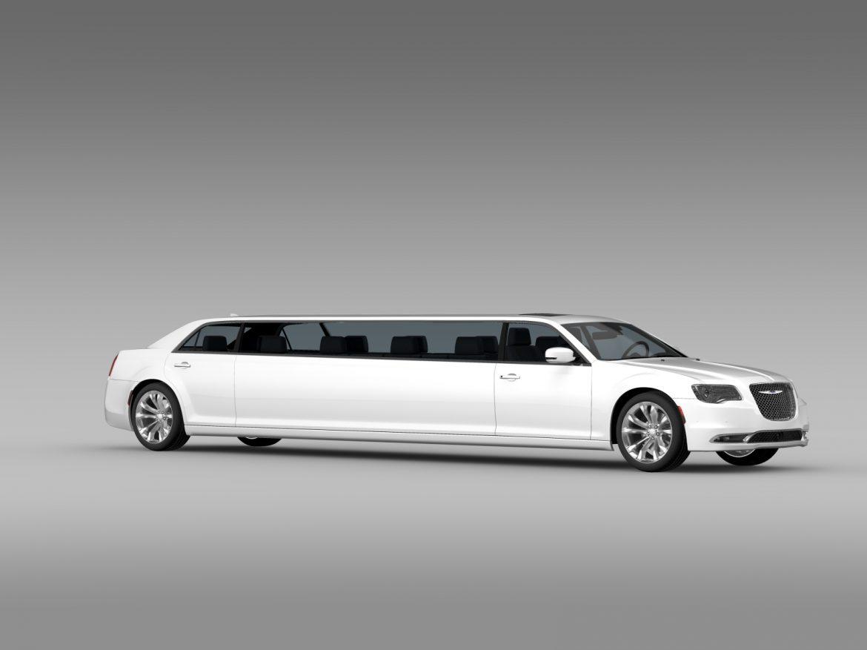 chrysler 300c platinum limousine lx2 2016 3d model 3ds max fbx c4d lwo ma mb hrc xsi obj 216052