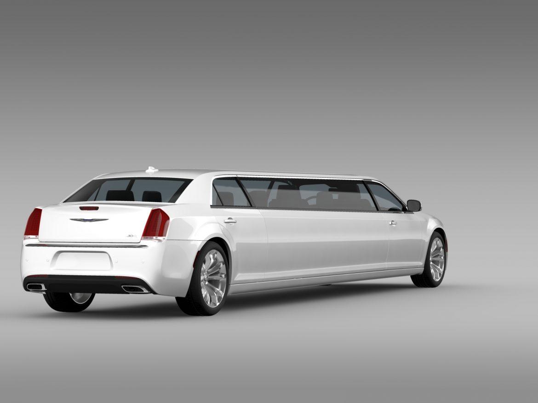 chrysler 300c platinum limousine lx2 2016 3d model 3ds max fbx c4d lwo ma mb hrc xsi obj 216053