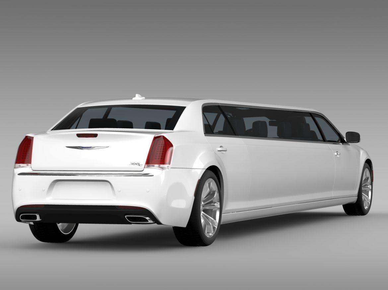 chrysler 300c platinum limousine lx2 2016 3d model 3ds max fbx c4d lwo ma mb hrc xsi obj 216054
