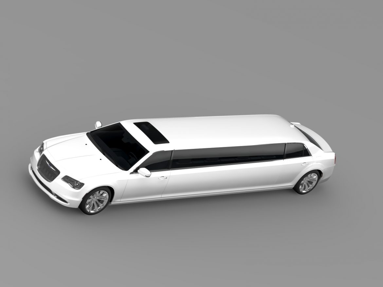 chrysler 300c platinum limousine lx2 2016 3d model 3ds max fbx c4d lwo ma mb hrc xsi obj 216055