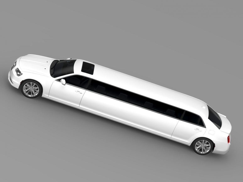 chrysler 300c platinum limousine lx2 2016 3d model 3ds max fbx c4d lwo ma mb hrc xsi obj 216056