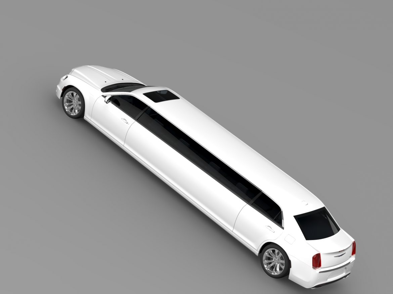 chrysler 300c platinum limousine lx2 2016 3d model 3ds max fbx c4d lwo ma mb hrc xsi obj 216057