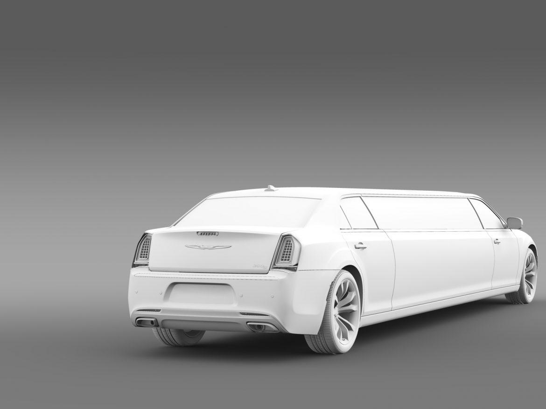 chrysler 300c platinum limousine lx2 2016 3d model 3ds max fbx c4d lwo ma mb hrc xsi obj 216059