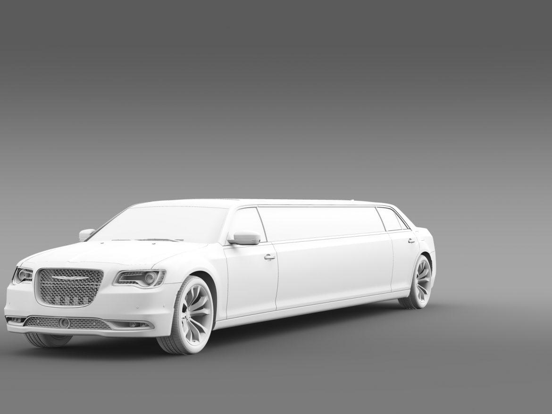 chrysler 300c platinum limousine lx2 2016 3d model 3ds max fbx c4d lwo ma mb hrc xsi obj 216060
