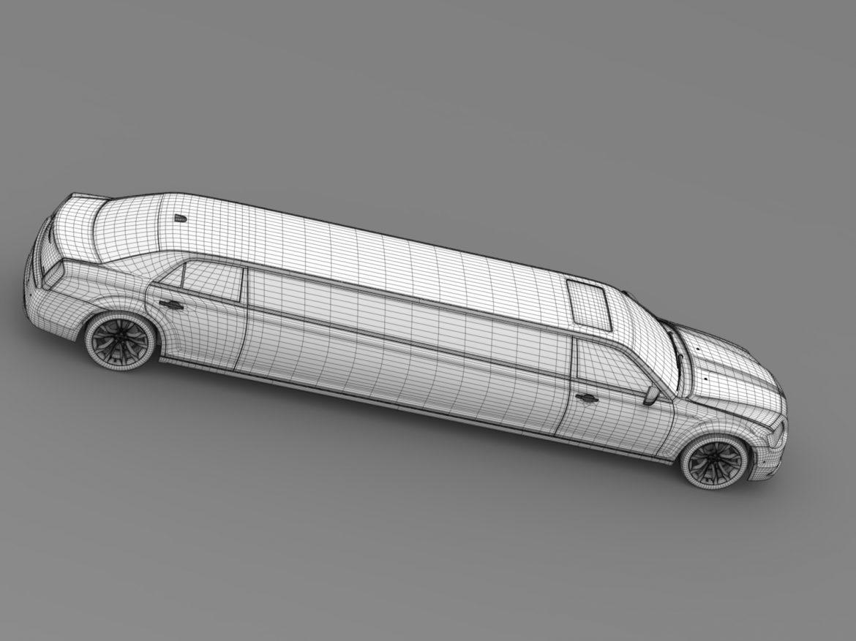 chrysler 300c platinum limousine lx2 2016 3d model 3ds max fbx c4d lwo ma mb hrc xsi obj 216061