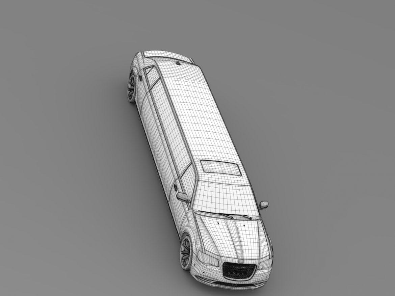 chrysler 300c platinum limousine lx2 2016 3d model 3ds max fbx c4d lwo ma mb hrc xsi obj 216062