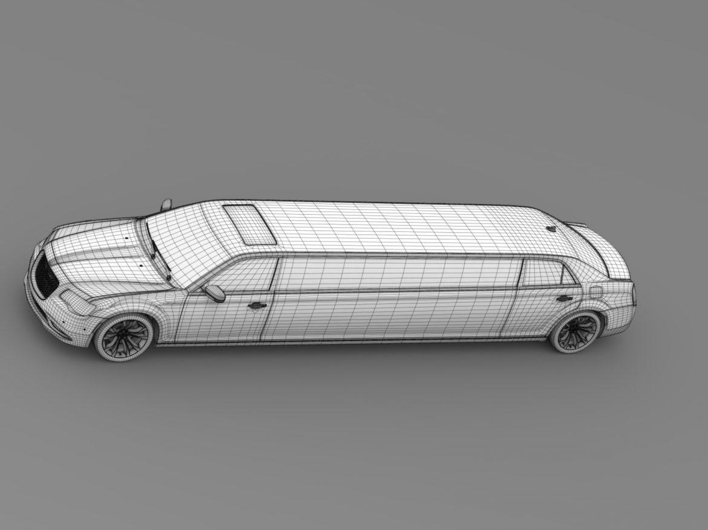 chrysler 300c platinum limousine lx2 2016 3d model 3ds max fbx c4d lwo ma mb hrc xsi obj 216063