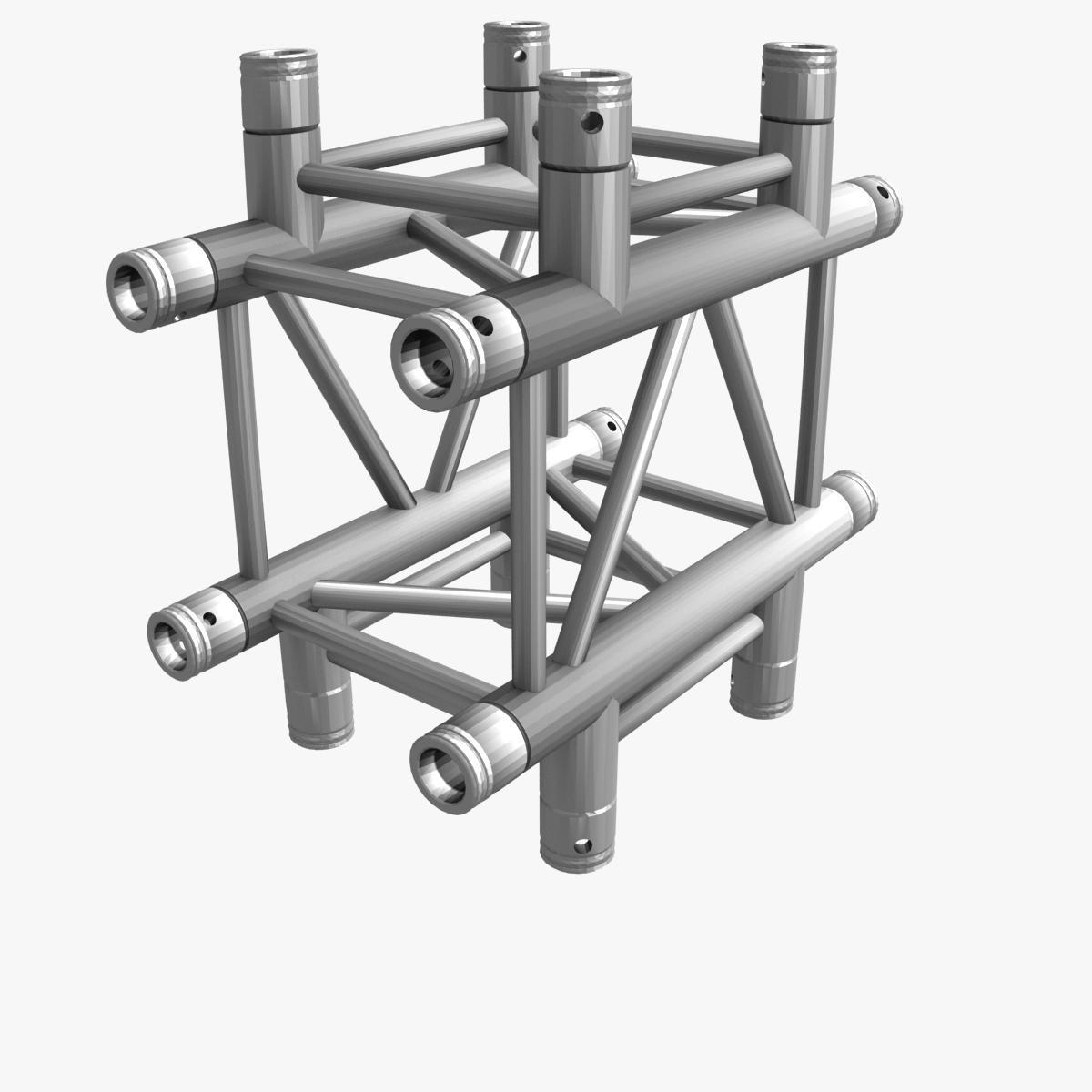 square light trusses (collection 50 modular) 3d model 3ds max dxf fbx c4d dae texture obj 216173
