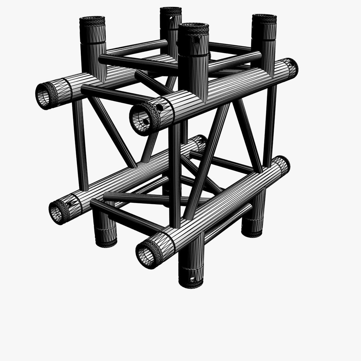 square light trusses (collection 50 modular) 3d model 3ds max dxf fbx c4d dae texture obj 216174